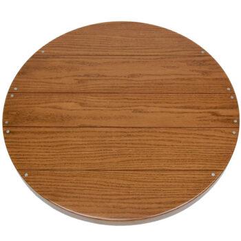 Oak Veneer Faux Plank with Nail Heads