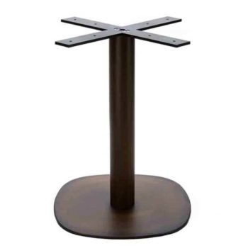 Arena Dining Height Table Base Aged Copper