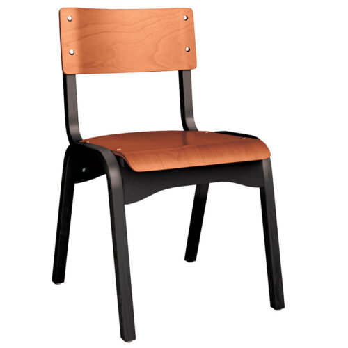 H-CAR Chair Black and Cherry