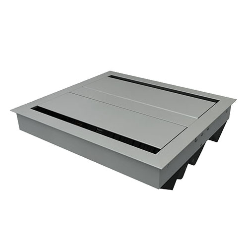 E2X 3 Power 3 Data in-surface Power Unit Closed Lid