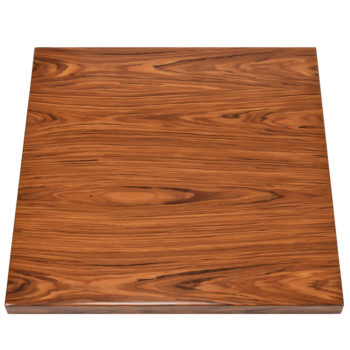 Brookline Santos Rosewood Veneer Overlay with Matching Self-Edge