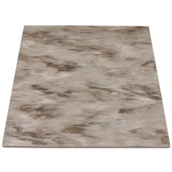 Corian Hazelnut Solid Surface Table Top