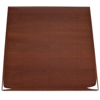Mahogany Veneer Inlay and Wood Edge