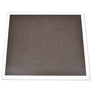Staron Adamantine with Staron Bright White Edge Solid Surface Table Top