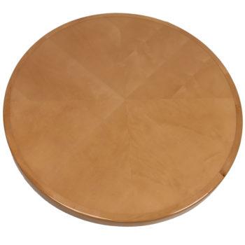 Maple Veneer Inlay in Reverse Diamond Box Pattern with Maple Wood Edge Custom Stained to Match Wilsonart Monticello