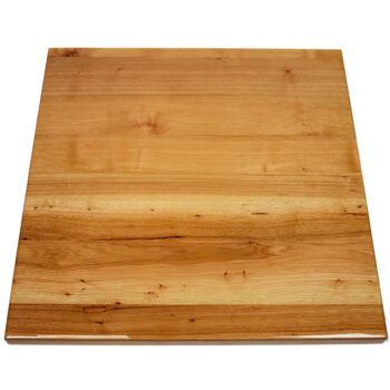 Hickory Veneer Self Edge Table Top