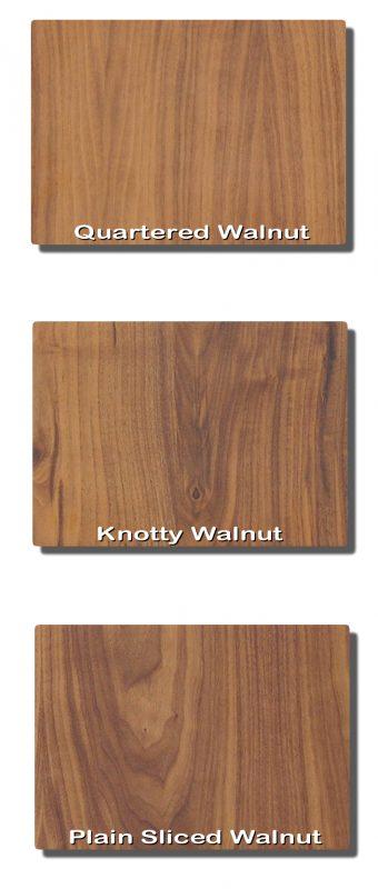 , Different Types of Walnut Cuts