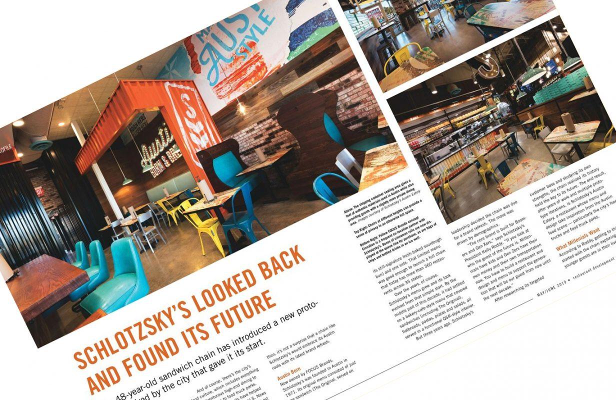 , Featured in Restaurant Development & Design Magazine