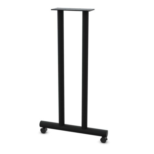 2400 Series T-Leg Dual Column Table Base with Casters