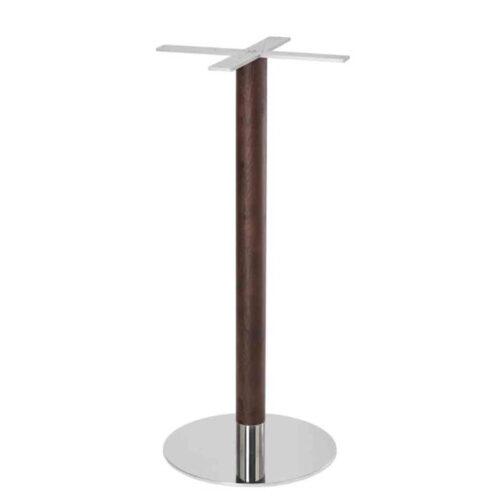 Disco Bar Height Wood Steel