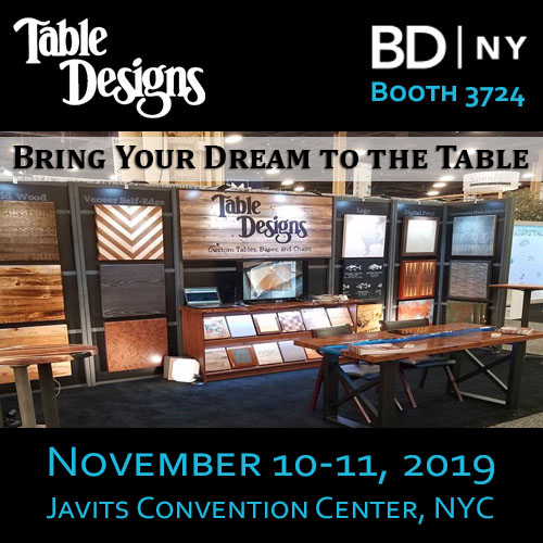 BDNY 2019 Table Designs