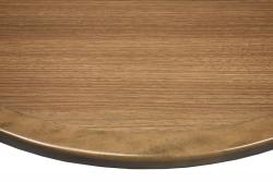 Wilsonart Neowalnut Laminate Inlay with Stained Maplewood Edge