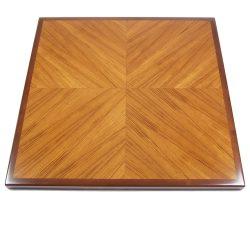 Veneer Wood-Edge Tables