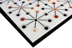 Customers Own Material - Inlaid with Hot Rolled Steel Edge