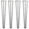 Hairpin Legs 3 Rod 1/2 Inch Heavy Duty