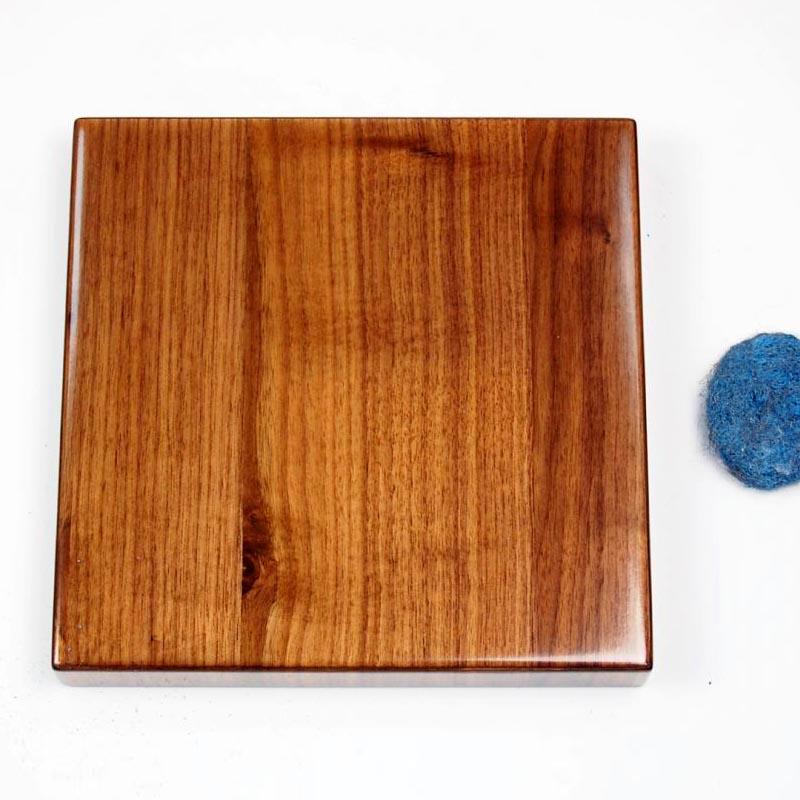 Ultra UV Finish 50 Strokes with Steel Wool Brush Ultra UV Finish 150 Strokes with a Steel Wool Brush