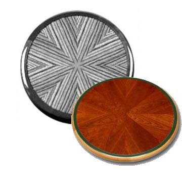 Sunburst Pattern - Custom Table Design Options