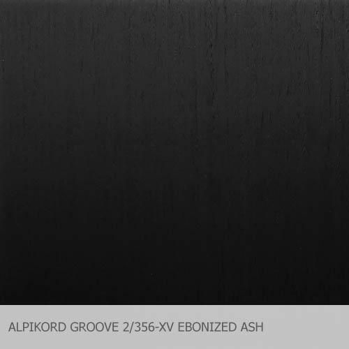ALPIKORD GROOVE 2-356-XV EBONIZED ASH