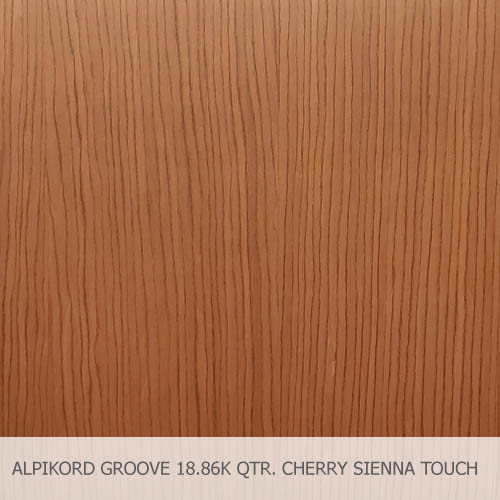 ALPIKORD GROOVE 18.86K QTR. CHERRY SIENNA TOUCH FINISH