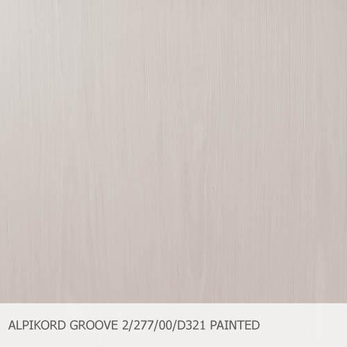 ALPIKORD GROOVE 2-277-00-D321 PAINTED OAK