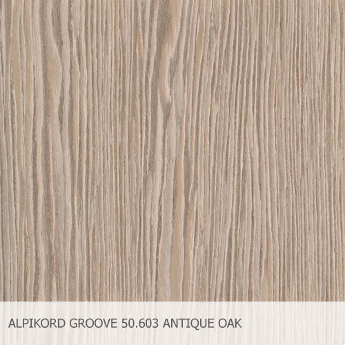 ALPIKORD GROOVE 50.603 ANTIQUE OAK