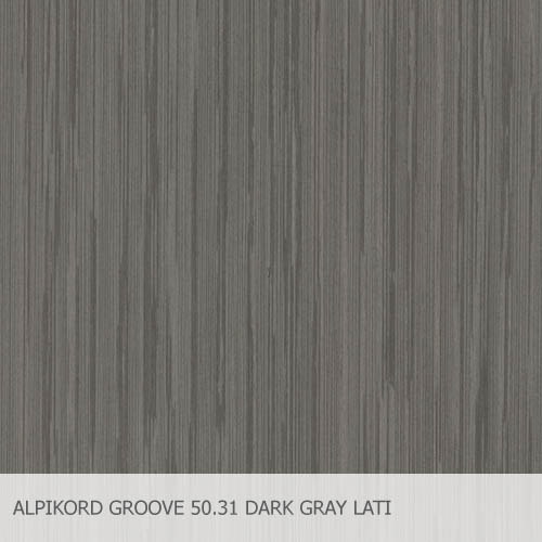 ALPIKORD GROOVE 50.31 DARK GRAY LATI