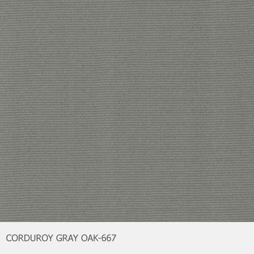 CORDUROY GRAY OAK-667