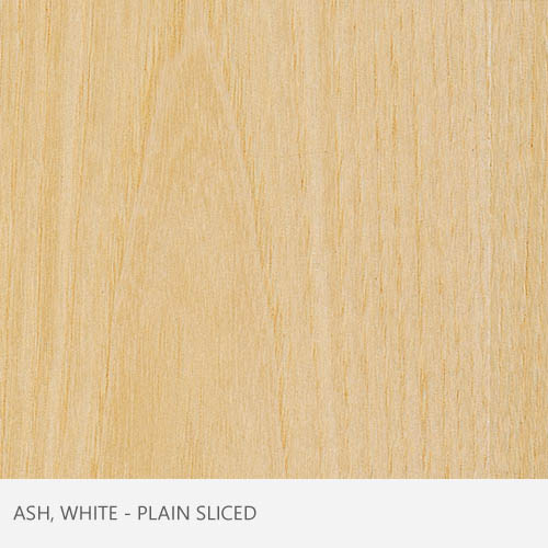 Ash White Plain Sliced