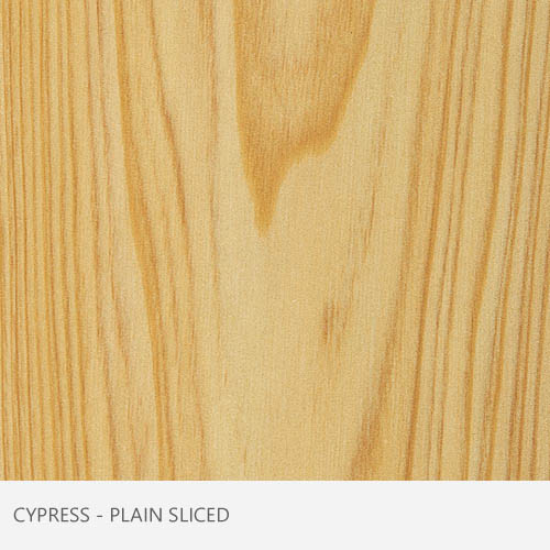 Cypress Plain Sliced