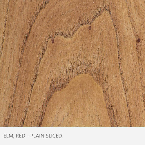 Elm Red Plain Sliced