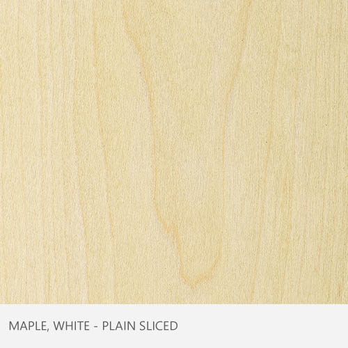 Maple White Plain Sliced