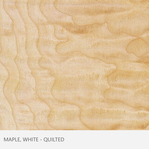 Maple White Quilted