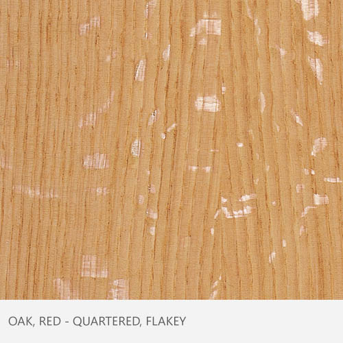 Oak Red Qtr Flakey
