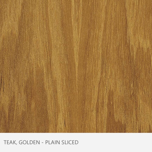 Teak, Golden Plain Sliced
