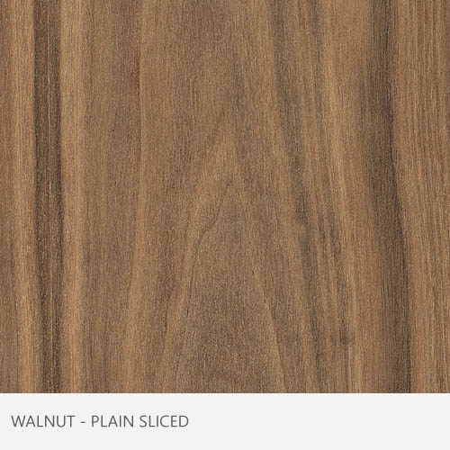 Walnut Plain Sliced