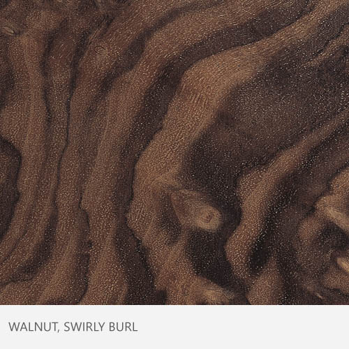 Walnut Swirly Burl