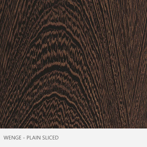 Wenge Plain Sliced