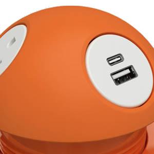 Soft Touch Orange
