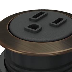 Round-Dark Bronze, Black Simplex