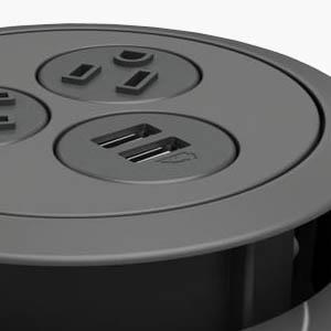 Soft Touch Black Plastic