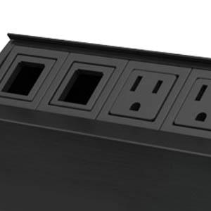 Black Anodized Aluminum