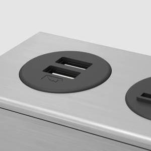 Dot Z - Anodized Aluminum with Black