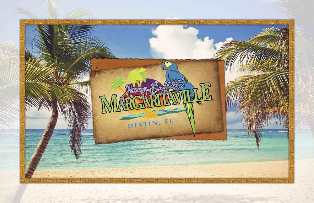 Margaritaville Logo by the Sea