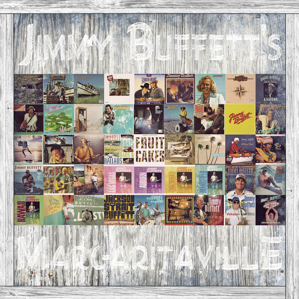 Jimmy Buffet's Margaritaville - White Wash