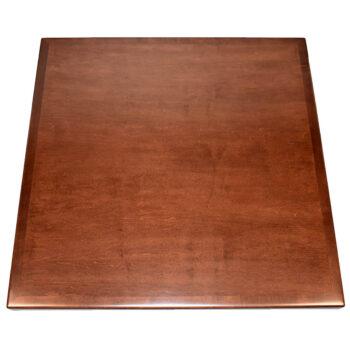 Plain Slice Maple Veneer Inlay with Maple Wood Edge with a Custom Stain