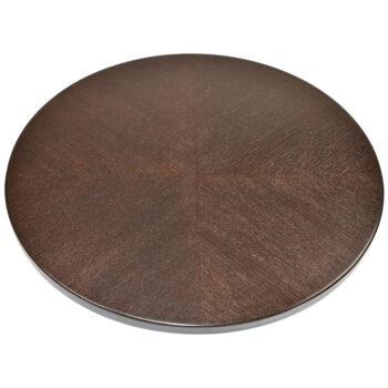Red Oak Veneer Overlay with Custom Stain to Match Wilsonart Cafelle