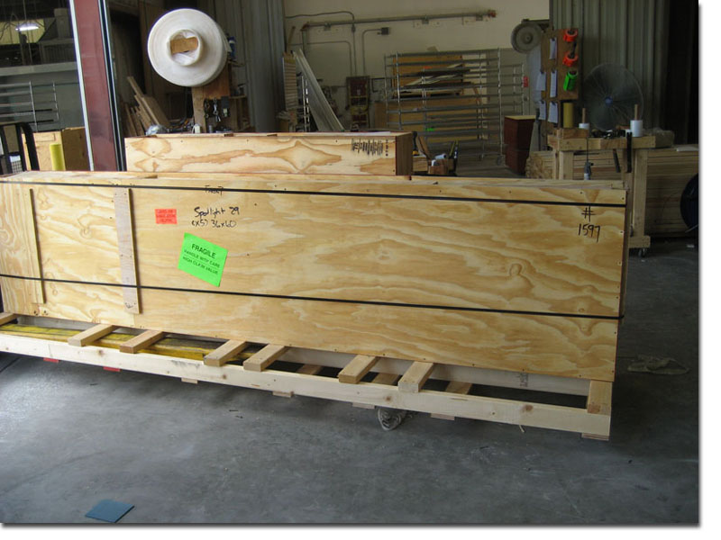 Custom Made Crate for Shipping