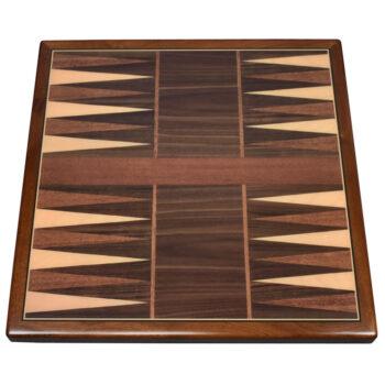 Digitally Printed Gameboard and Veneer with Mahogany Wood Edge