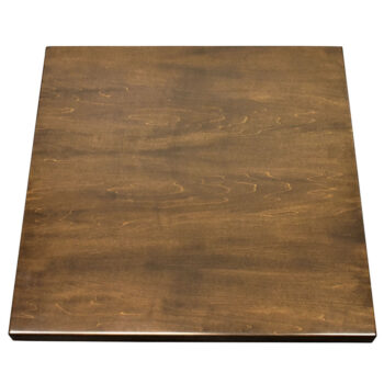 Custom Made Maple Veneer Self-Edge Table Top with #453 Standard Stain
