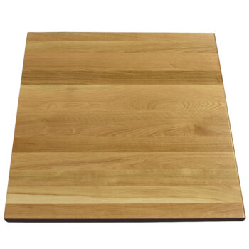 "custom table top 1.75"" White Oak Plank Top"